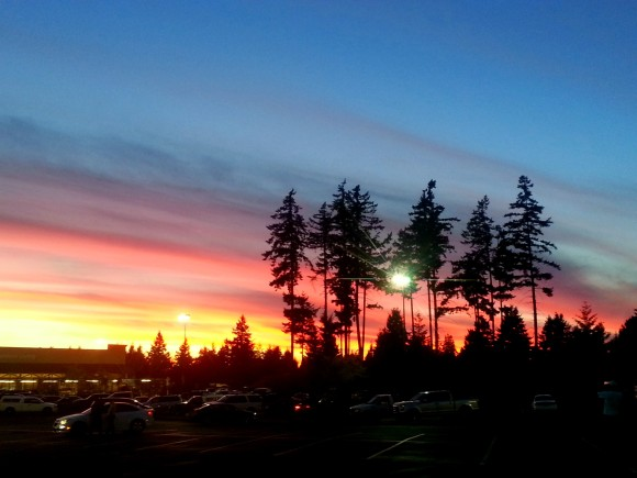 Olympia Sunset 2015.07.17