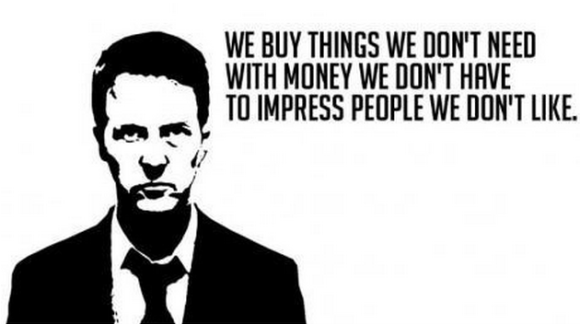 Consumerism. It's so ugly.